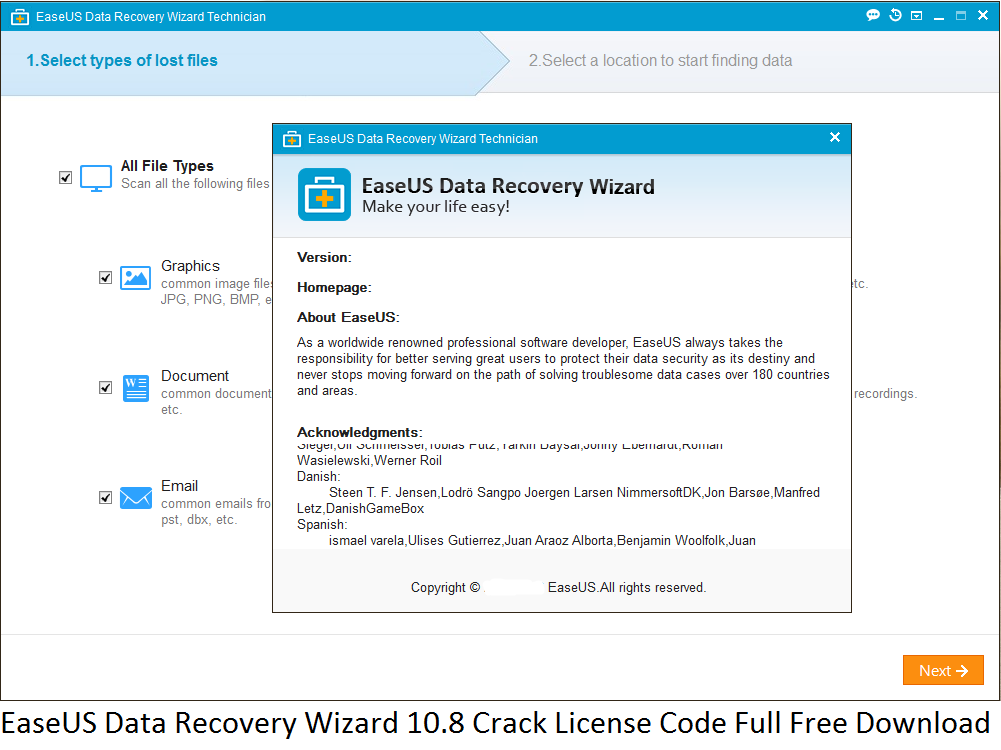 license code for easeus data recovery wizard professional