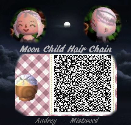 A Collection Of Cute Qr Codes Animal Crossing Hair Animal Crossing Qr Qr Codes Animal Crossing