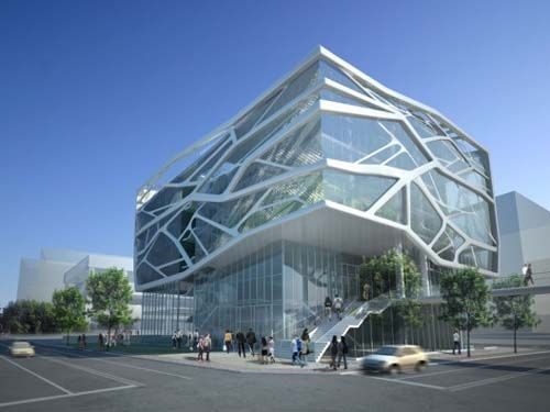 Green Architecture Design Of Gimpo Art Hall By Gansam Partners Concept Design