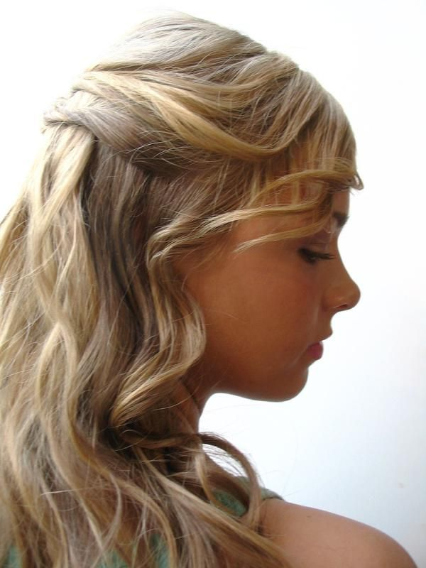 Find This Pin And More On HairStyle By Forwineweed Prom Curling Iron Curls