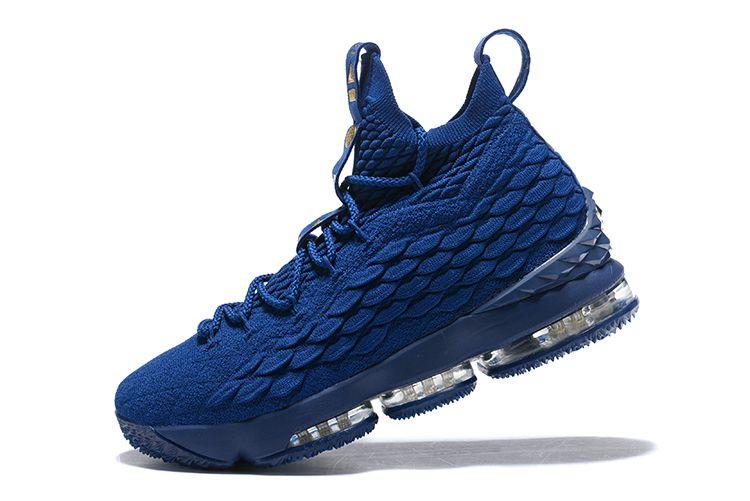 4766065e9018b 2017 Nike LeBron 15 Agimat Philippines Coastal Blue Metallic Gold For Sale-4