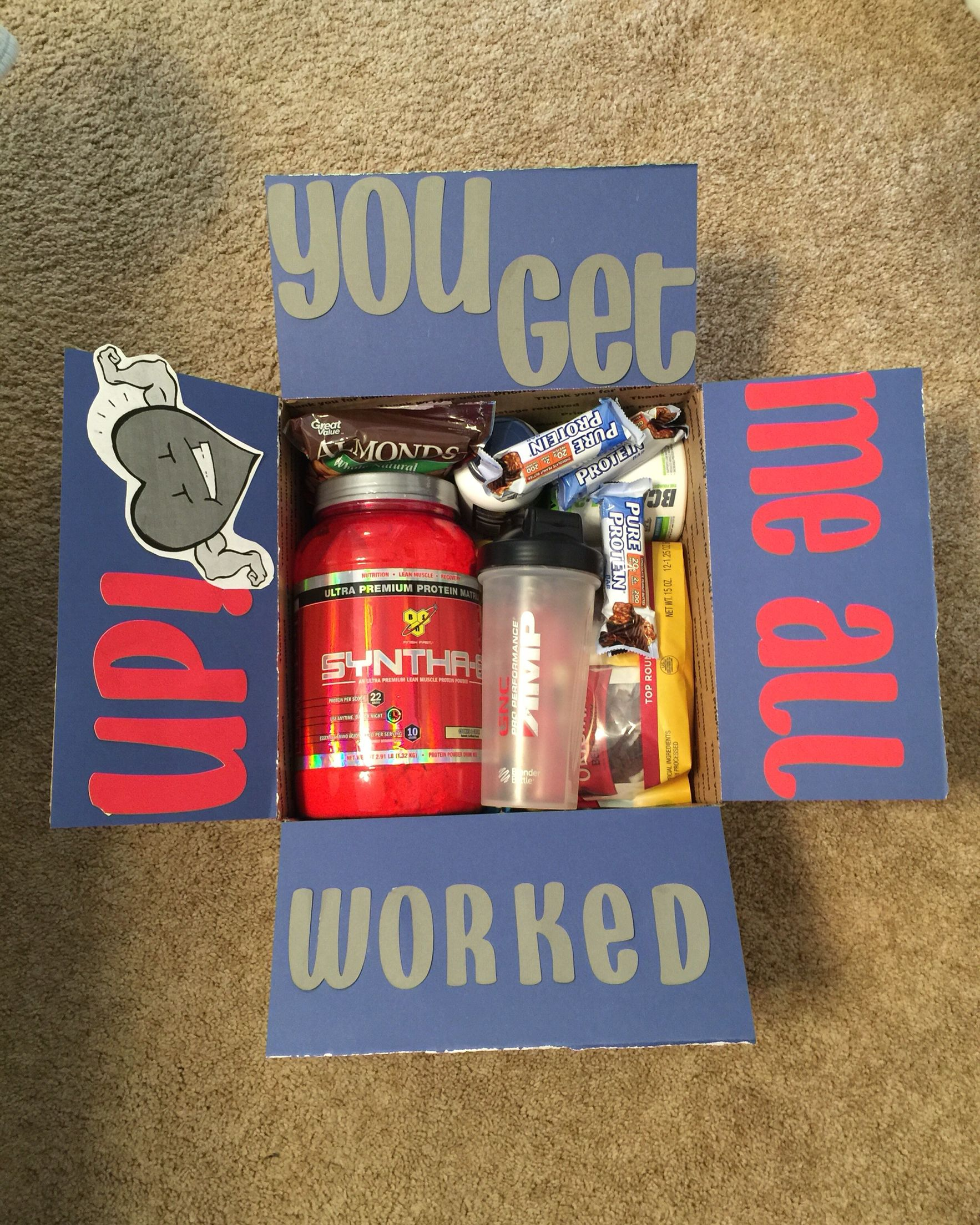Workout Care Package More Surprise Boyfriend Gifts