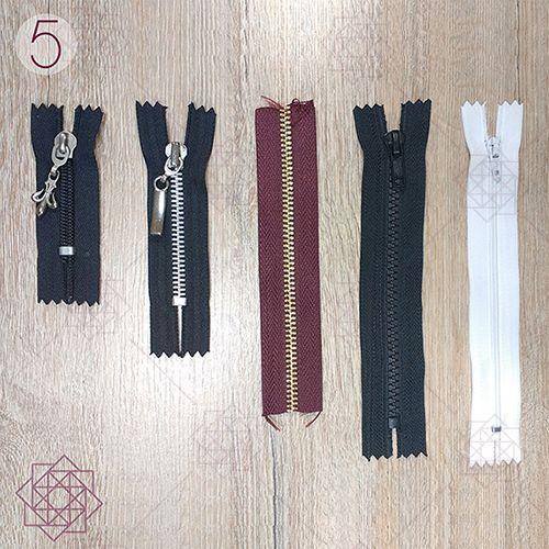 Cómo coser una cremallera en 3 simples pasos.
