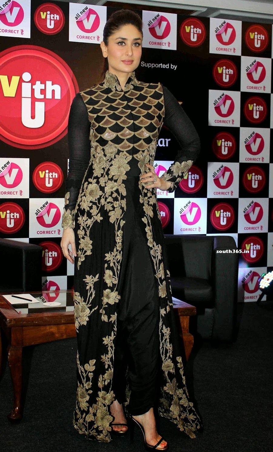 Black dress kareena kapoor - Image Result For Kareena Kapoor Dress