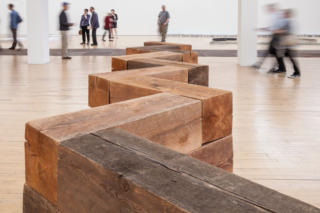 Carl Andre Emerges to Guide Installation at Dia:Beacon | Gardens ...