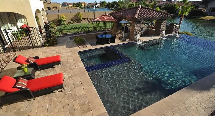 Arizona Pool Builder Alexon Design Group By And Landscaping