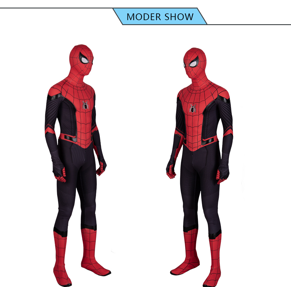 Spider Man Far From Home Jumpsuit Spiderman Halloween Cosplay Costumes With Images Cosplay Costumes Spiderman Halloween Cosplay