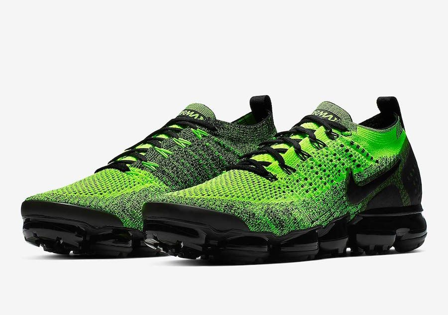 Sinis madera Iniciar sesión  Nike Air VaporMax 2 Neon Green Black 942842-701 Release Date - SBD   Nike  air vapormax, Mens athletic shoes sneakers, Mens nike air
