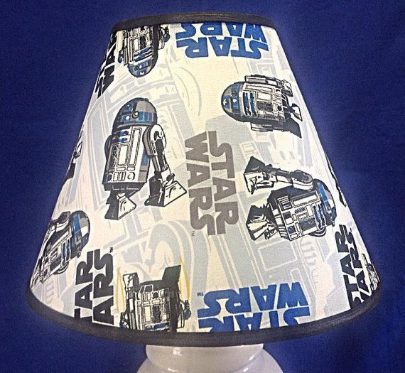 R2d2 Star Wars Lamp Shade By Justyourshade On Etsy