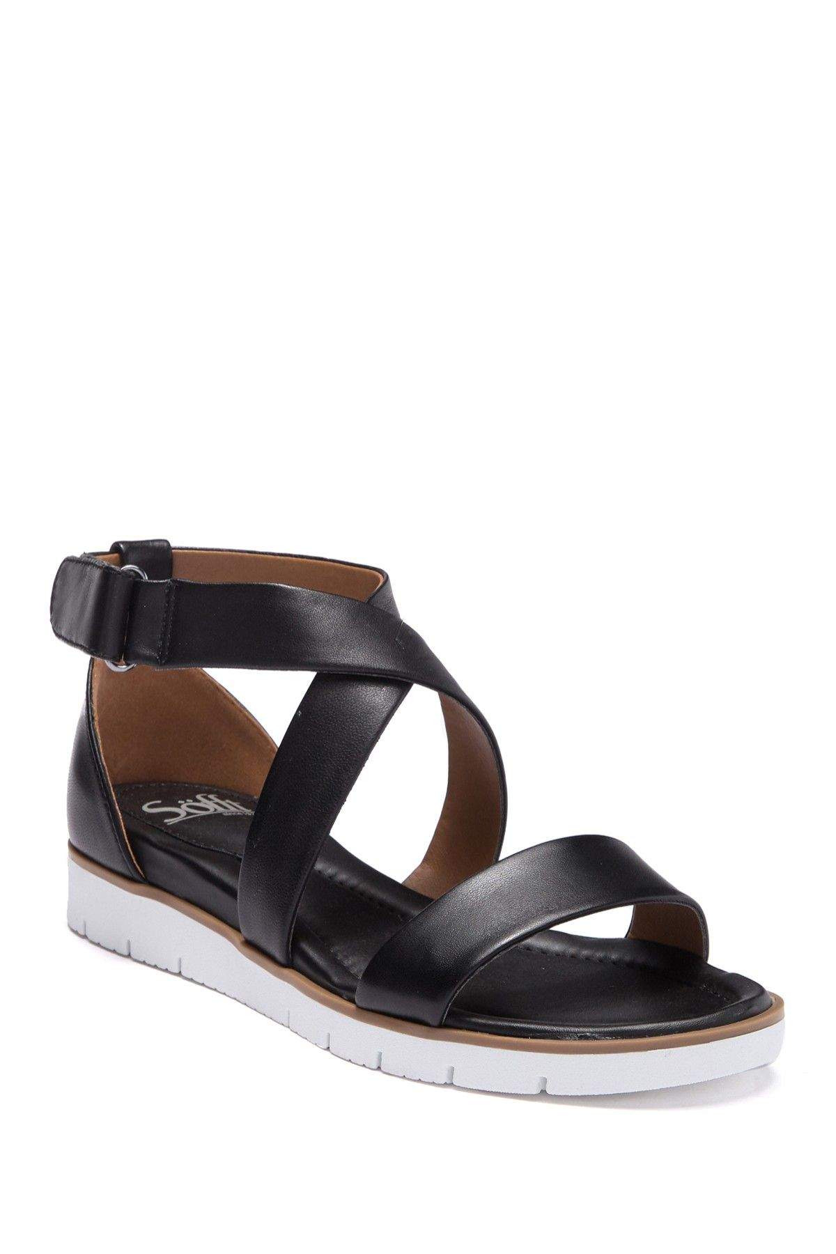 ba1c3a9aa95 Sofft | Reston Smooth Sandal in 2019 | vacation clothes | Sandals ...