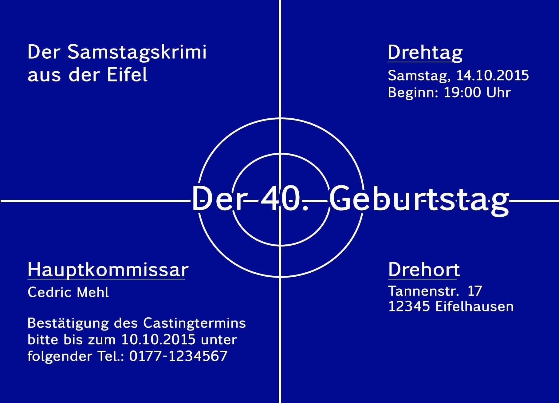 Schön Einladungskarten 40 Geburtstag Kostenlos   Einladung Zum Geburtstag