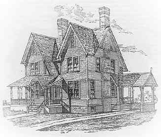 Old House Plans From The 1800s With Home Office For Narrow Lot Victorians Built In Ct And Other A Victorian House Plans Best House Plans Old Victorian Homes