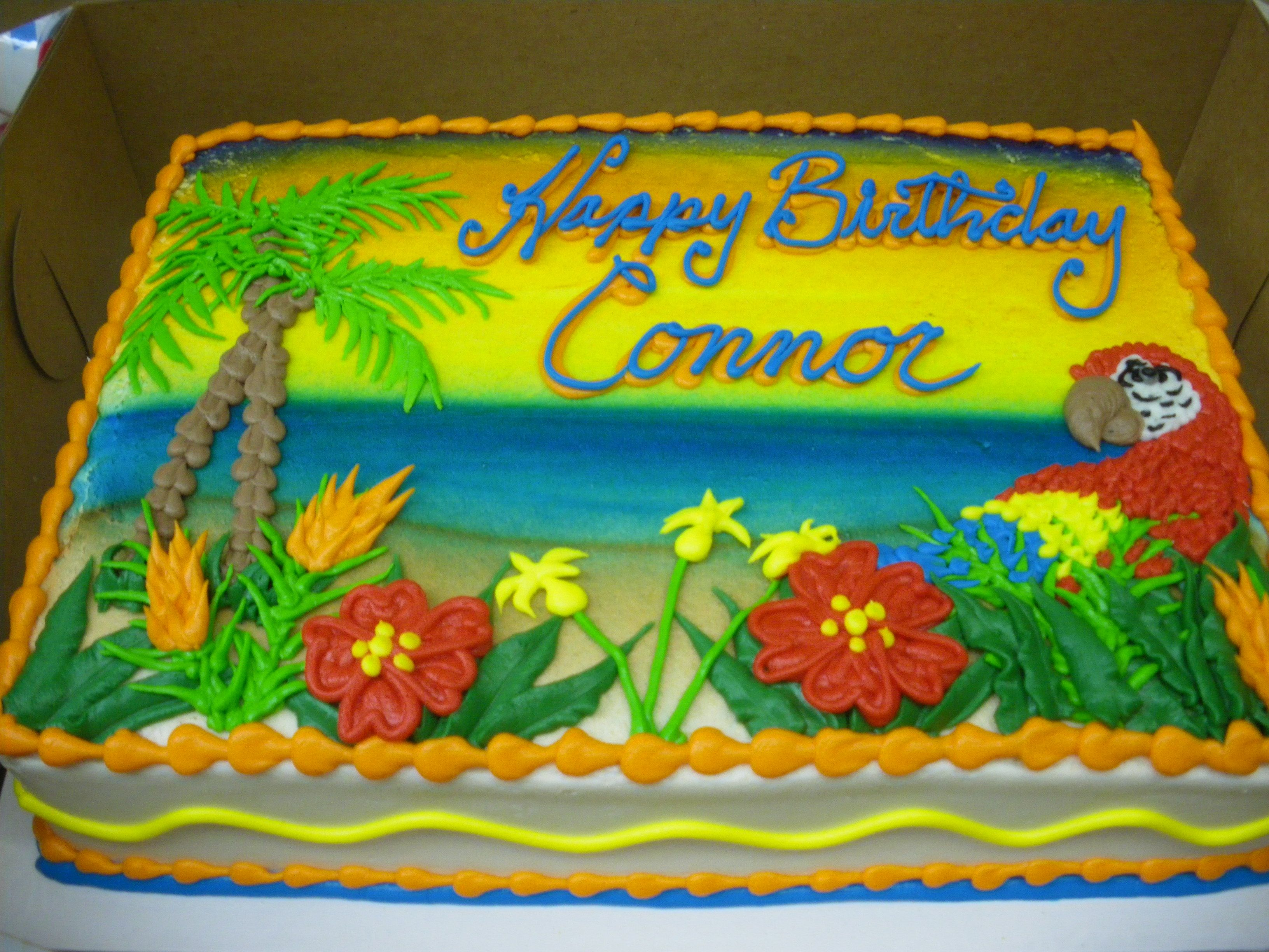 Tropical Sheet Cake