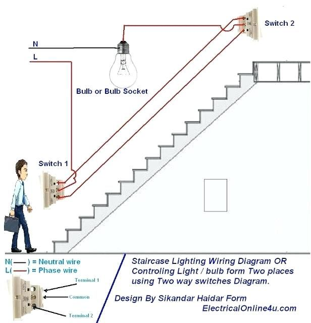 Wiring Diagram For House Light Switch In 2020 Home Electrical Wiring Diy Electrical Electrical Wiring