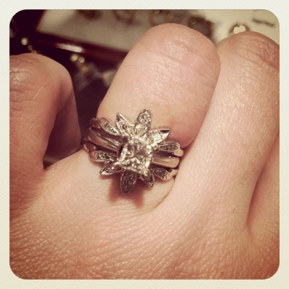 Perfect Princess Cut Solitaire E Ring And I Recently Stumbled Upon The Idea Of Enhancers