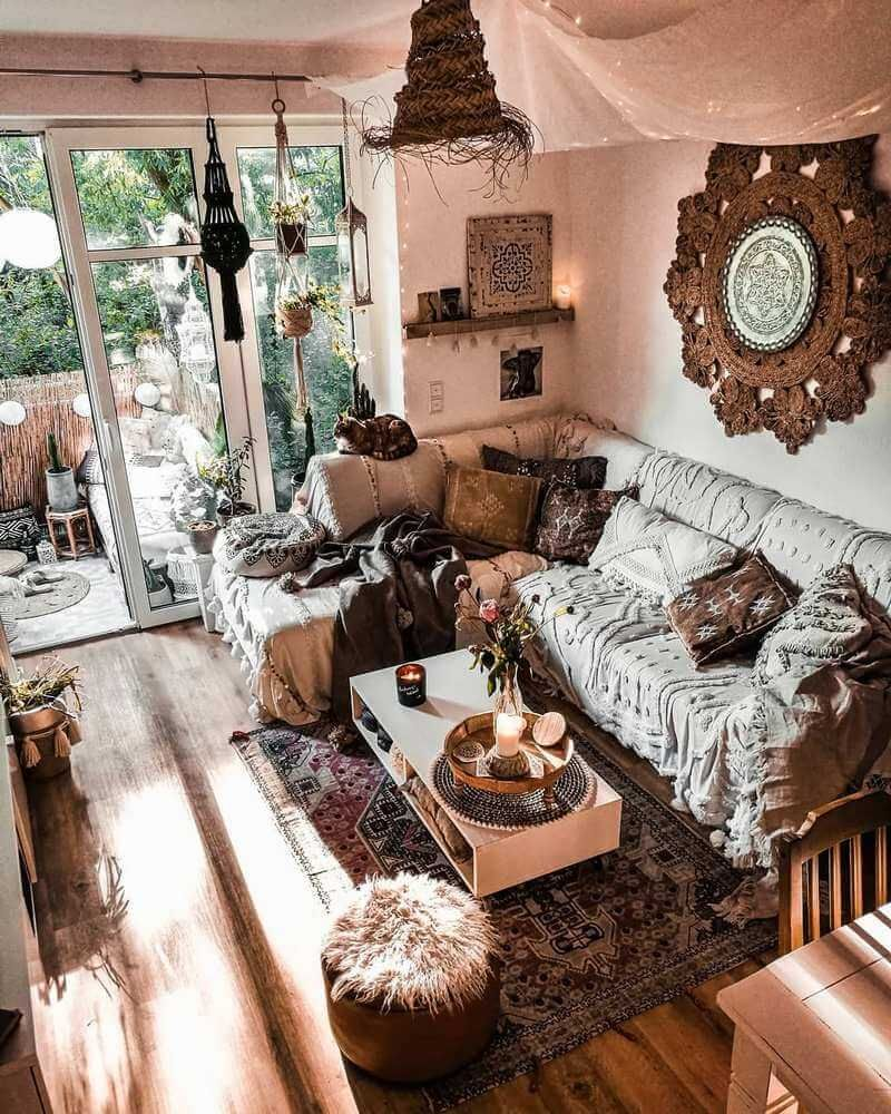 Bohemian Style Interior Designs and Decor Ideas (avec images