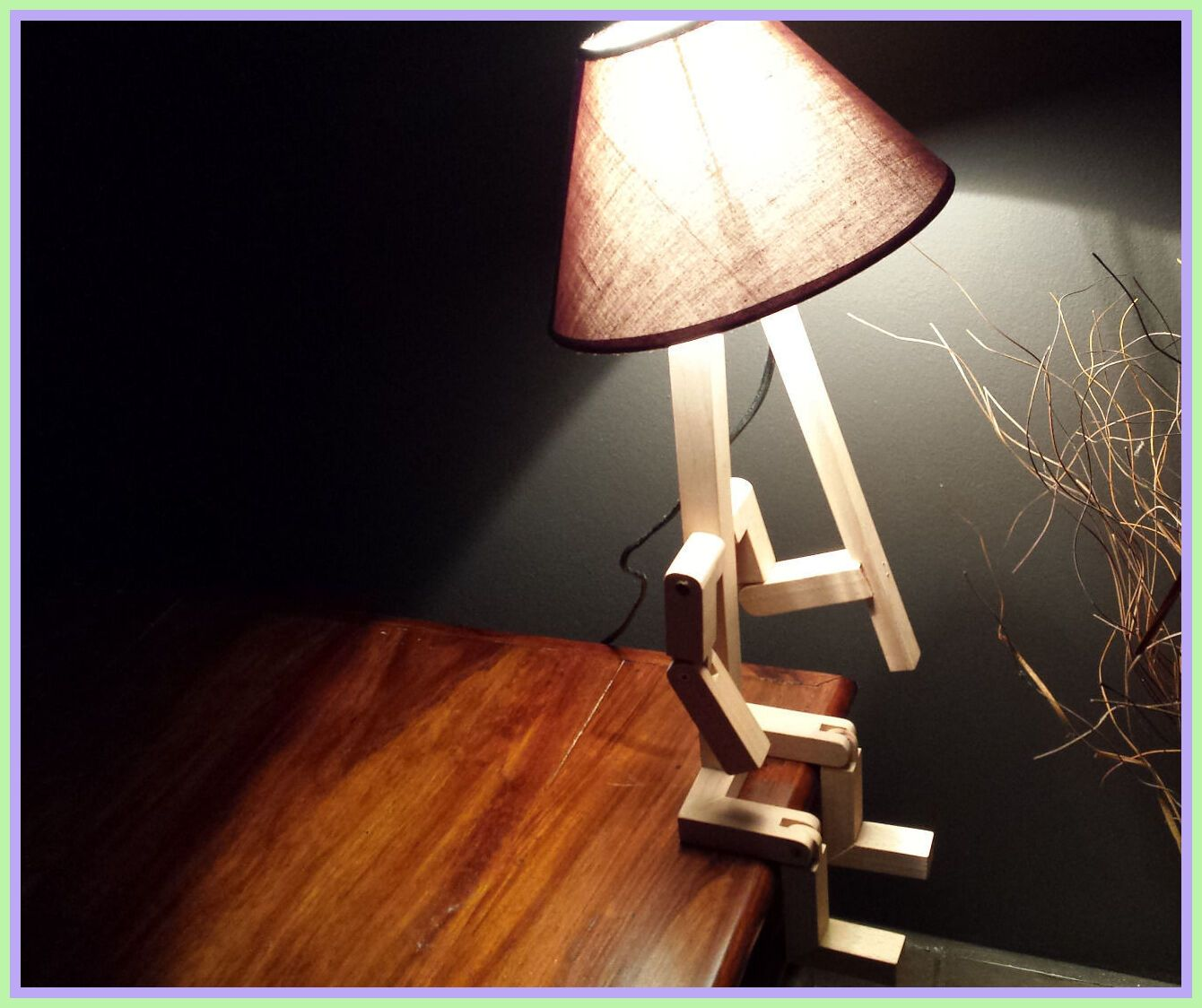 Pin On Lamps Wooden Bedroom Bedside