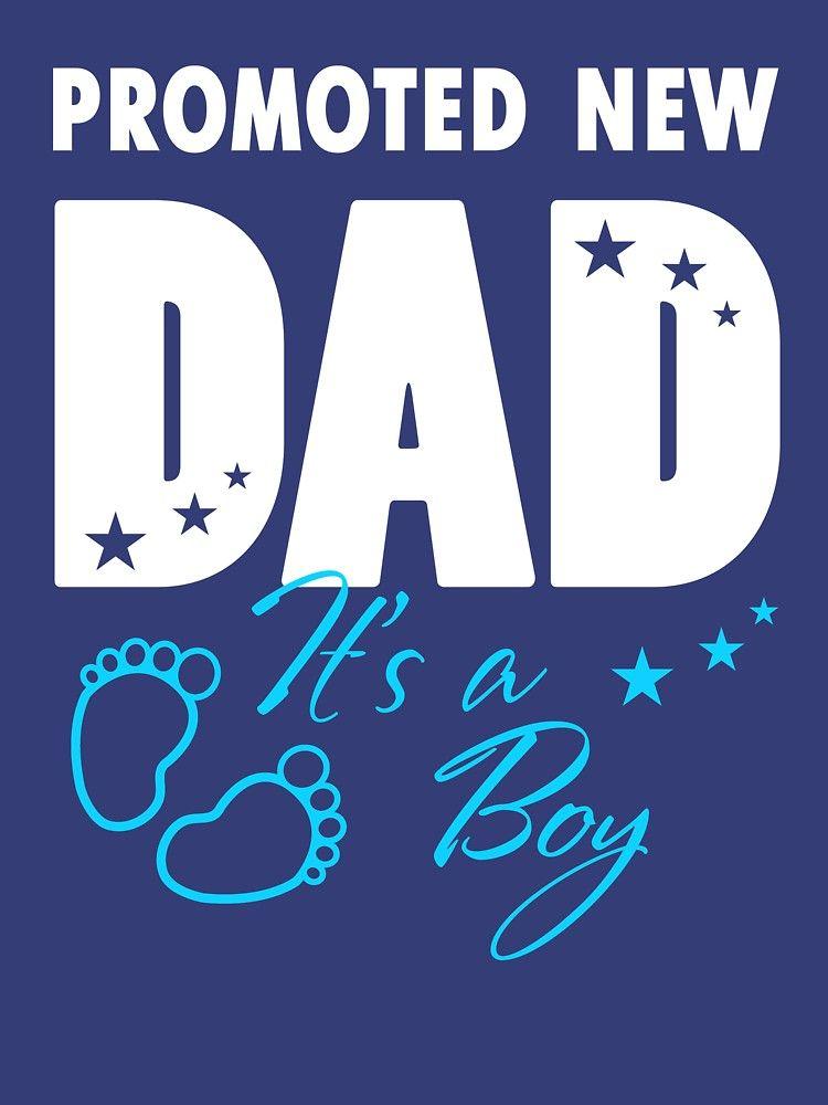 b1eb01d3 Proud New Dad Shirt It's A Boy Tee Soon To Be Dad Papa Funny   Slim ...