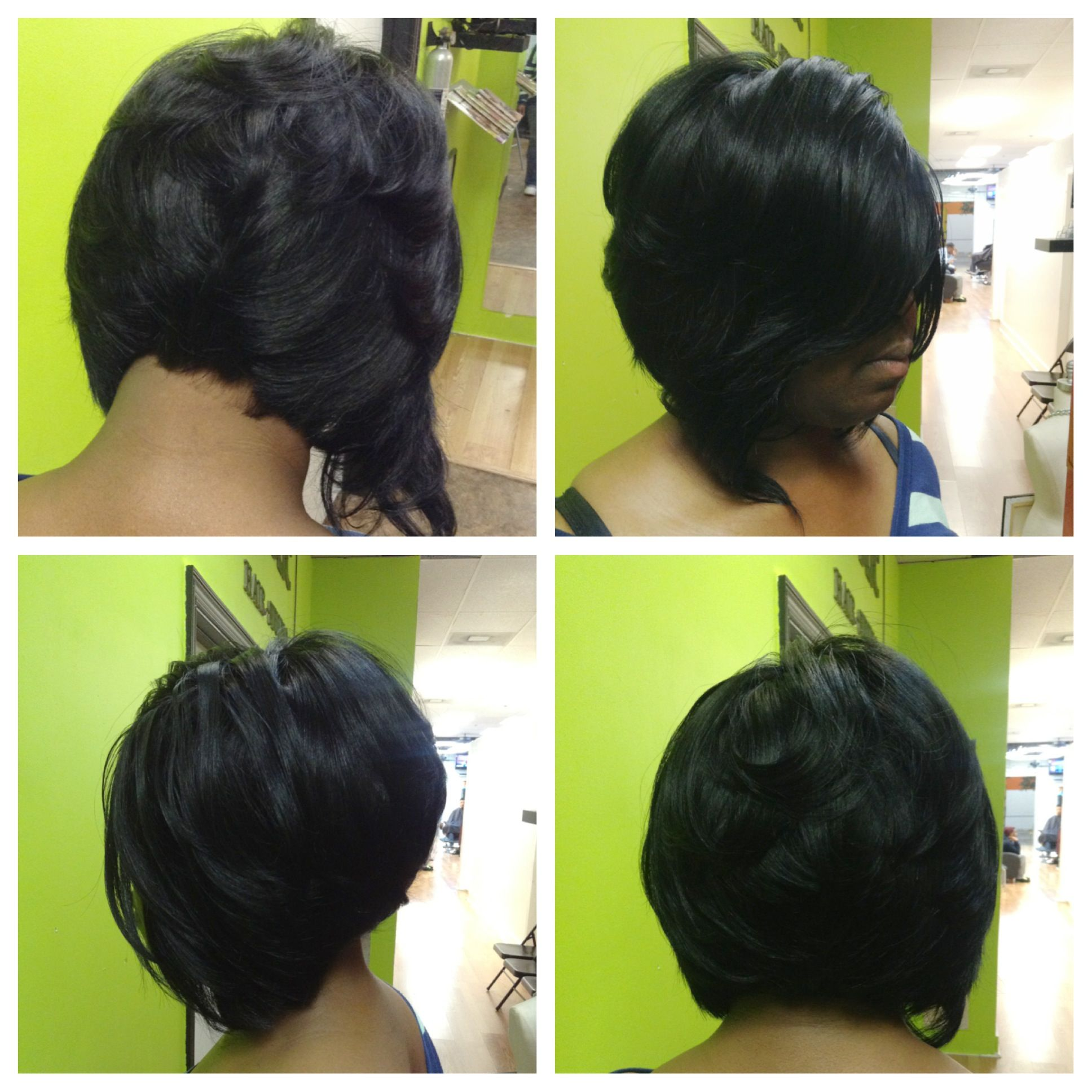 Hairstyles Quick Weave : Quick Weave In Atlanta Short Hairstyle 2013