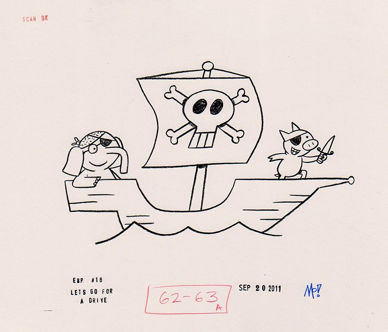 Pirate - new mo willems coloring pages elephant and piggie