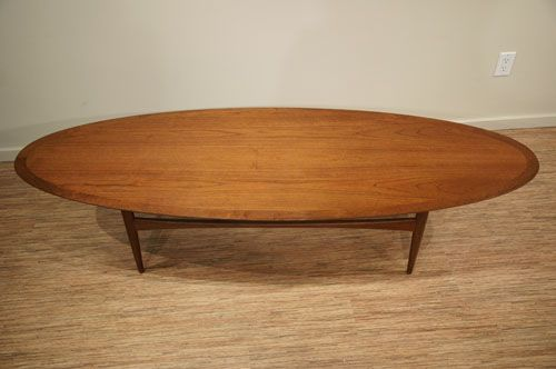Mid Century Modern Oval Coffee Table Oval Coffee Tables Modern