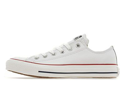 white leather converse | Products I Love | Leather converse