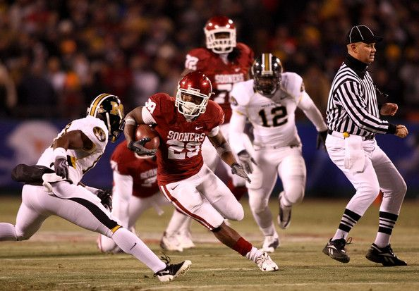 Kenji Jackson Photos Photos Big 12 Football Championship Missouri V Oklahoma Oklahoma Sooners Football Sooners Ncaa College Football