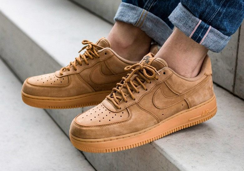 Producción Dificil laberinto  Nike Air Force 1 Low Flax AA4061-200 Release Info | SneakerNews.com | Nike  air force brown, Nike air force, Nike air force ones