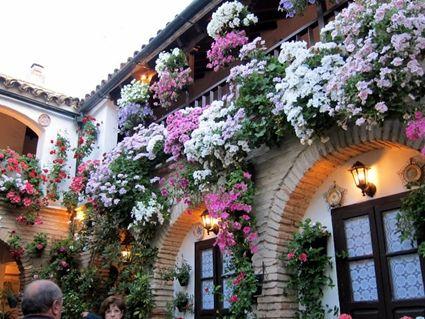 Un balc n andaluz en tu casa flowers - Fotos patio andaluz ...