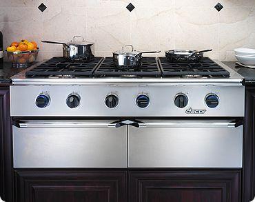 Eg486sch Liquid Propane Dacor 48 Slide In Epicure Liquid Propane Gas Cooktop Stainless Steel Dacor Kitchen Kitchen Appliances