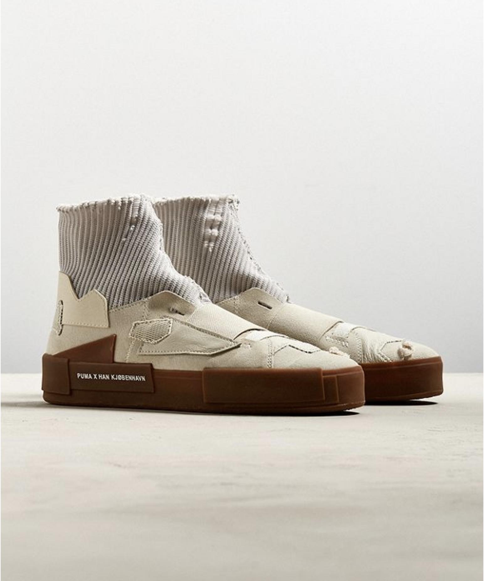 Puma X Han Kjobenhavn Court Platform Sneakers 140 Usd Sneakers Men Fashion Futuristic Shoes Mens Accessories Shoes