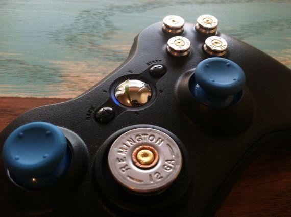 Xbox Controller Rapid Fire 9mm Shotgun Shell bullet button