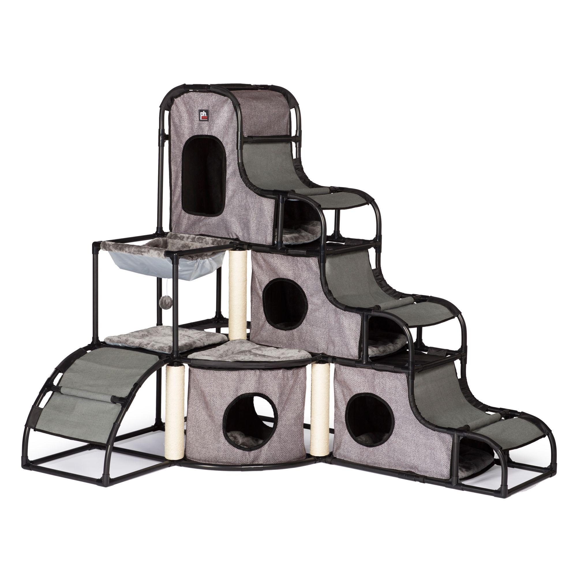 Prevue Pet Catville Cat Tower Cat Condo Cat Climbing Tower Cat Climbing