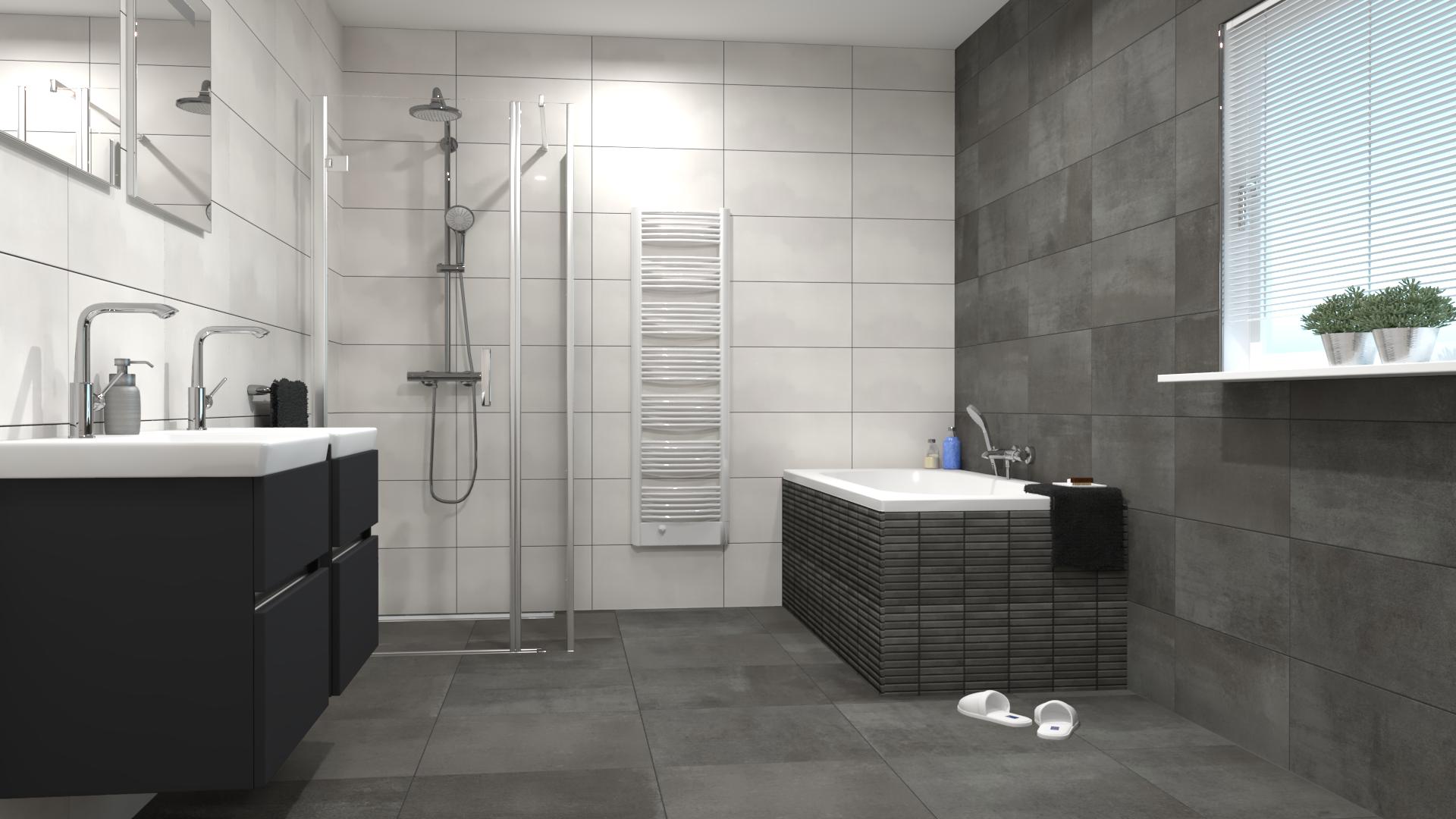 Spotlight Cm9m Van Villeroy Boch In De Formaten 60x60 En 30x60 Bath Tiles Villeroy Boch Bathtub