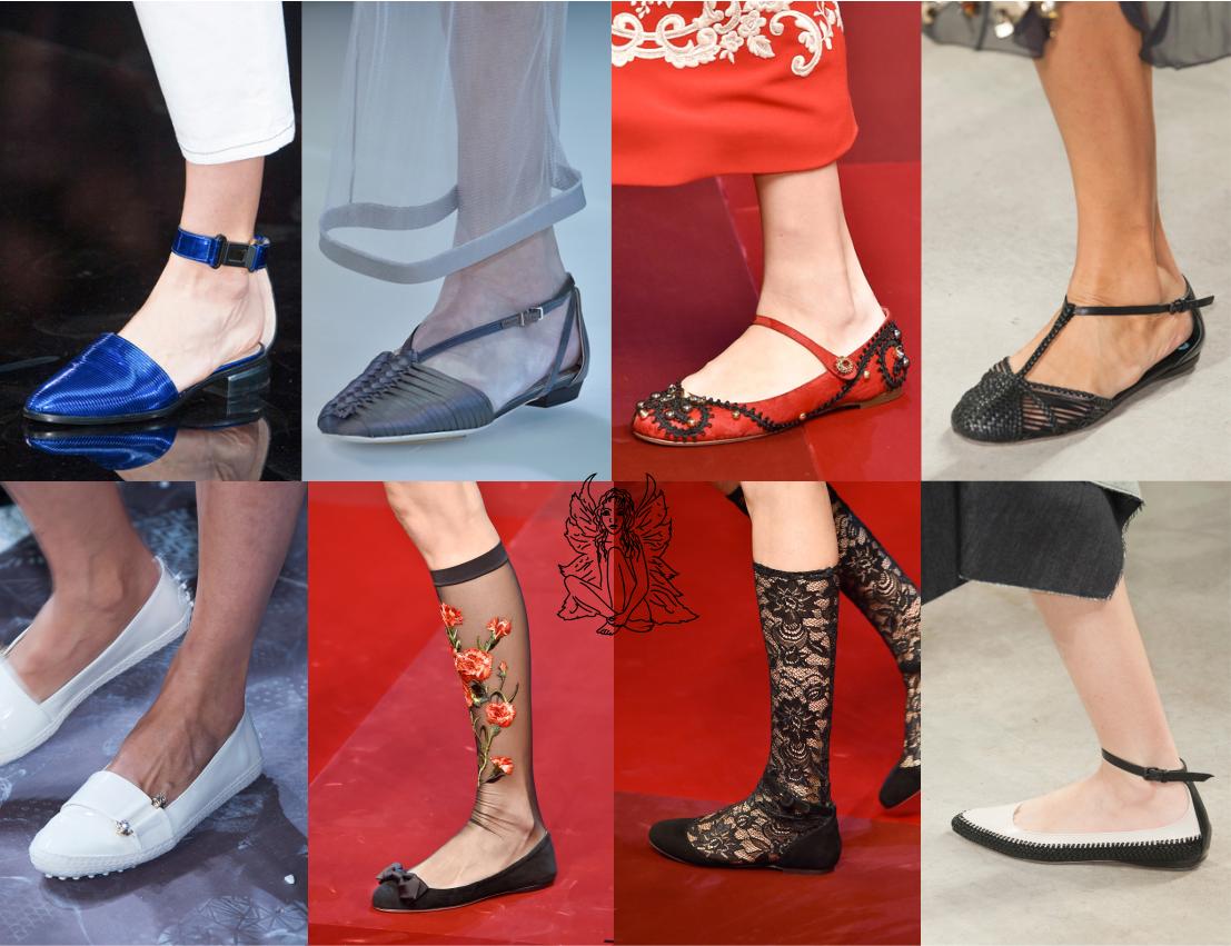 Os desfiles de #Milão acabaram, e trouxeram diversas inspirações e novas #tendências para o verão/2014. Dentre elas o uso de #sapatos baixos, deixando os saltos de lado e optando por #looks mais confortáveis. Marcas que tratam os sapatos como verdadeiras jóias, como a Dolce & Gabbana, levaram o mesmo primor para as #sapatilhas, #espadrilhas e etc. com brilhos, pedrarias e materiais de extremo valor.  #AndressaCastro #ModaFeminina
