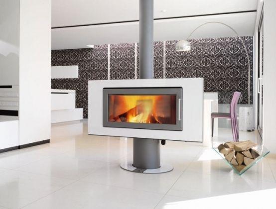 le chauffage au bois cologique et conomique chemin e. Black Bedroom Furniture Sets. Home Design Ideas