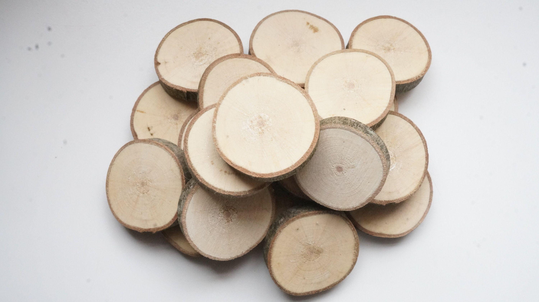 Small Maple Wood Slices 1 3 8 1 5 8 Inch Set Of 20 Bulk Mini Tree Slabs Tiny Fairy Garden Log Discs Pyrography Supplies Tree Slab Maple Wood Wood Slices