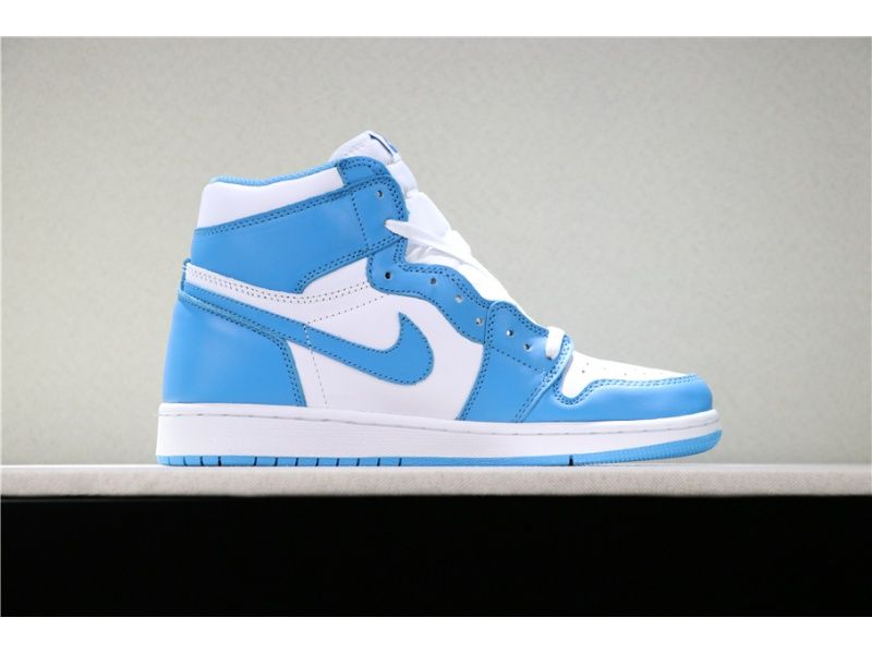 Air Jordan 1 Retro High Og Unc Dark Powder Blue White For