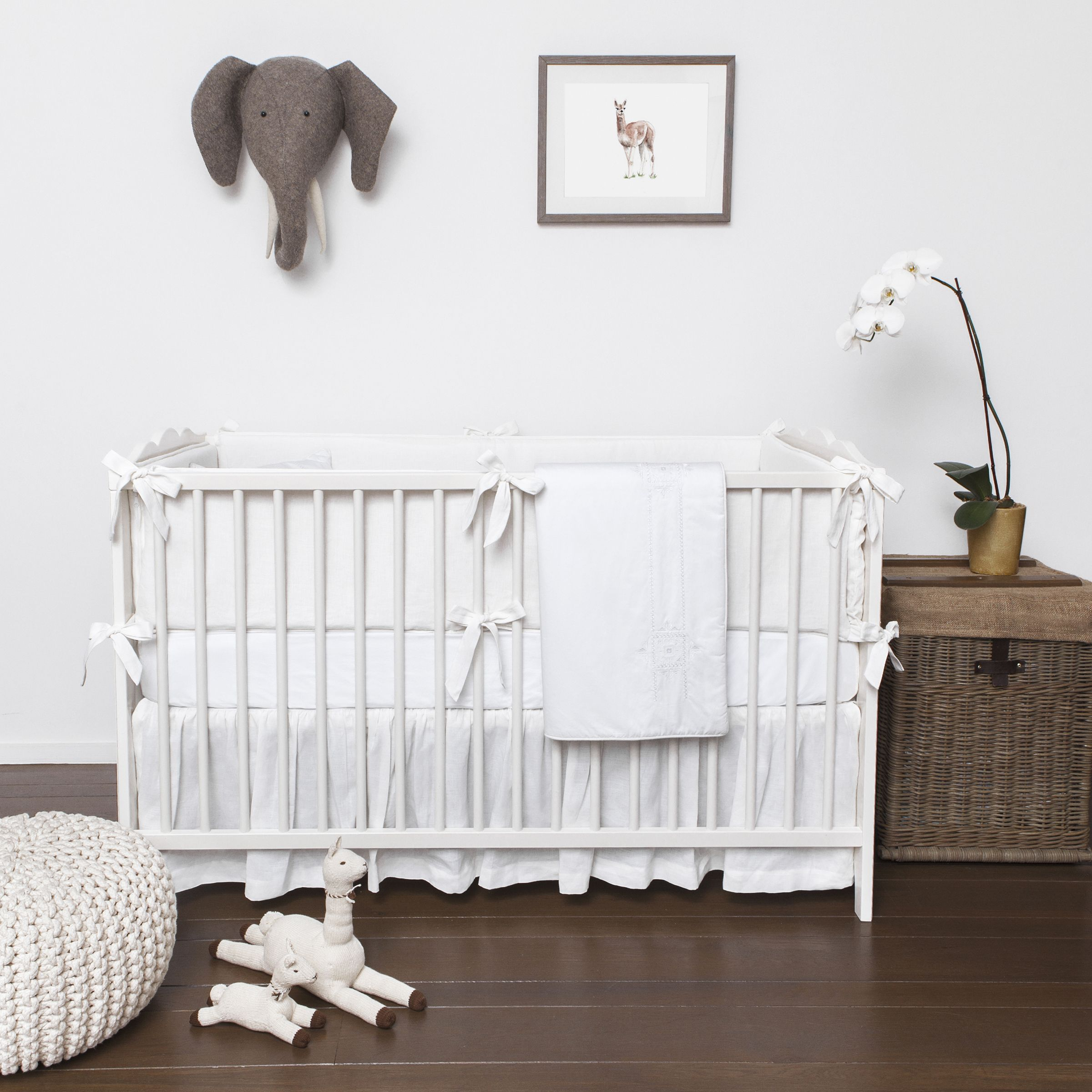White Out White Crib Bedding White Baby Cribs Baby Bed