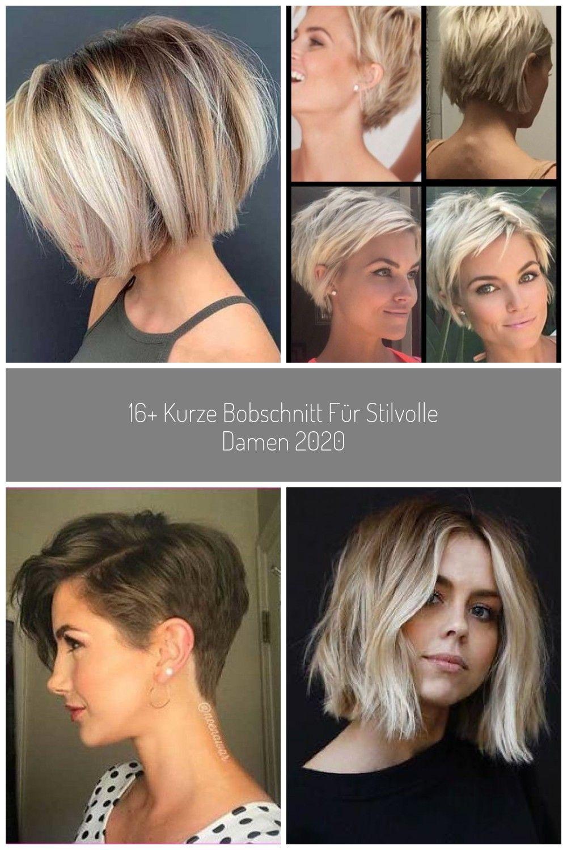 16 Kurze Bobschnitt Fur Stilvolle Damen 2020 Frisuren Haare Haarschnitt Kurze Kurzehaare Kurzhaarfrisuren Haarschnitt Kurz Haarschnitt Damen Haarschnitt