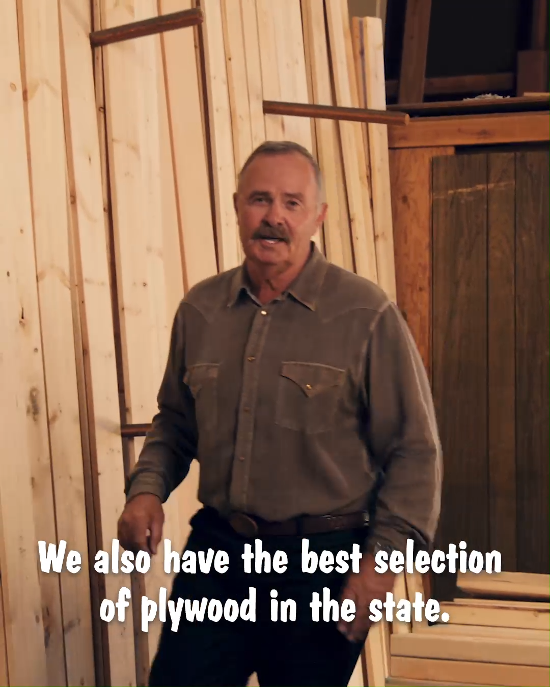 All Lonnie Wanted To Do Was Film A Commercial For His Lumber Yard
