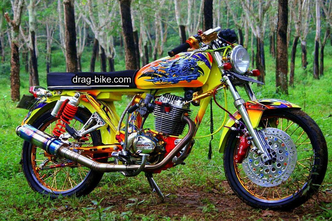 Modif Motor Cb Glatik Drag Gambar Motor Drag Racing