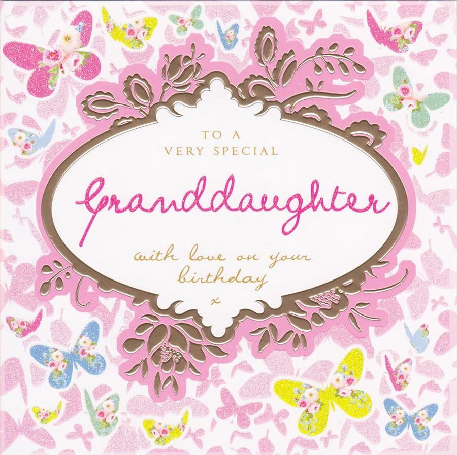 granddaughter Special Granddaughter Birthday Card Stephanie