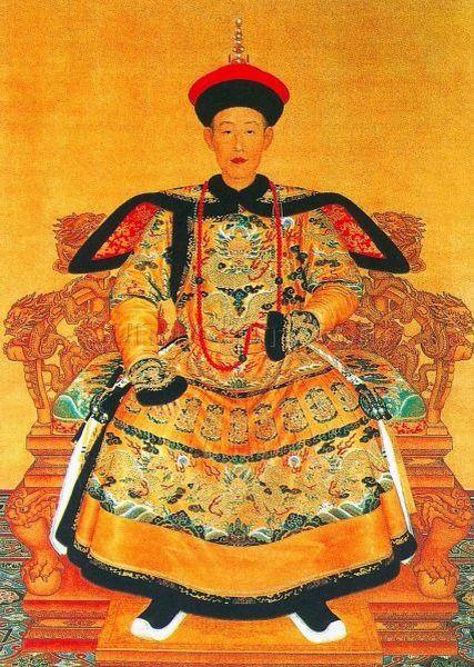 清乾隆帝肖像 | China | Pintere...