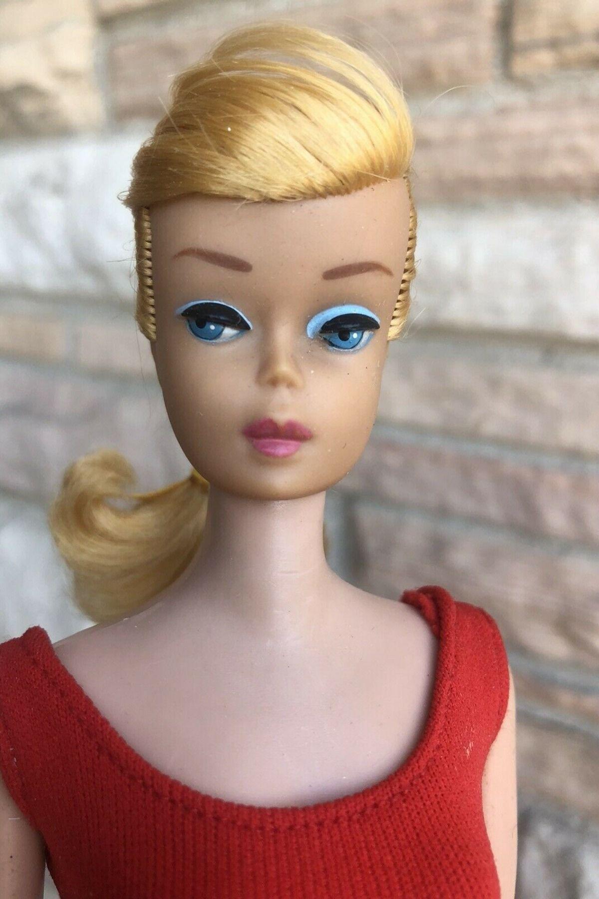 1960 S Swirl Ponytail Vintage Barbie Doll Barbie Ponytail Vintage Barbie Barbie