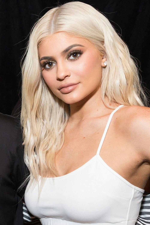 Kylie Jenner Platinum Blonde Kylie Jenner Frisuren