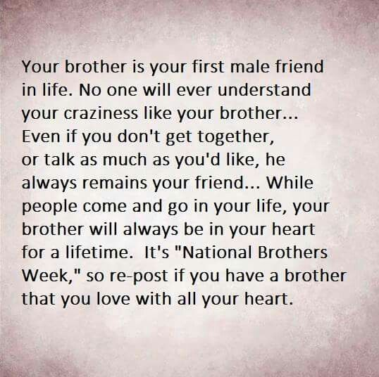 Tu Me Manques Mon Frere Andre Little Brother Quotes I Love My Brother Brother Quotes