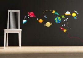 Behang Kinderkamer Ruimtevaart : Muursticker. ruimtevaart kids bed room inspirations pinterest