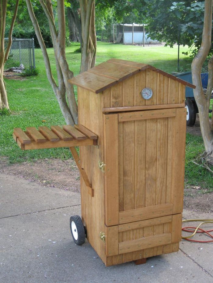 Build your own timber smoker! | Projects | Smokehouse, Homemade