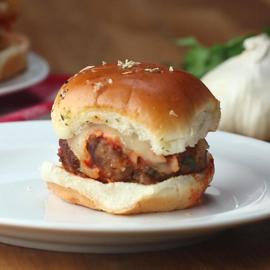 Meatball Slider Bake Video Video Ruoka Ruoanlaitto Food